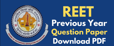 REET Previous Year Question Papers