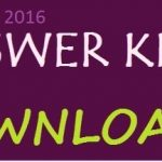 Karnataka PGCET Official Answer Key 2016 Expected Cutoff Marks