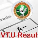 VTU 8th Semester Results 2016 Bengaluru region, VTU 8th Sem results declared