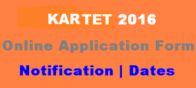 Karnataka TET Application form