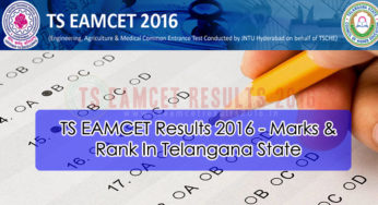 {Merit List} TS EAMCET 3 Exam Result 2016 {Cut off} Final List check