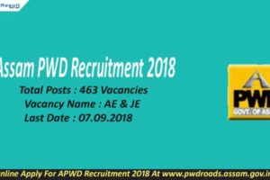 Assam PWD Recruitment