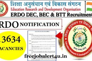 ERDO Recruitment 2018 Notification